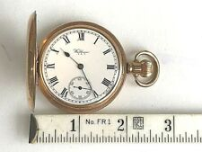 c1927 Ex Running Cond Accurate Time Antique Waltham Hunting Case Pocket Watch