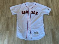 Denyi Reyes Team Issued Boston Red Sox Home White Jersey MLB Authenticated