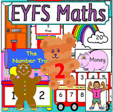 BUMPER MATHS TEACHING RESOURCES EYFS SEN Reception numeracy Childminder on CD