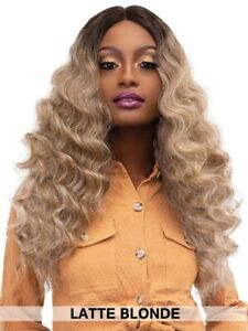 Janet Collection Extended Part Deep Swiss Lace Front Wig (NEW) - GABRIELA