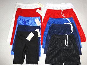 BOYS/GIRLS/ADULT SCHOOL UNIFORM PE SPORT SHORTS - FOOTBALL SHORTS/CYCLING SHORTS