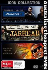 Miami Vice / Jarhead / Ray DVD, FREE POSTAGE WITHIN AUSTRALIA REGION 4