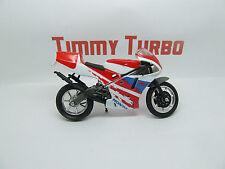 HONDA NSR MOTORBIKE BIKE RED WHITE & BLUE 120 MM LONG