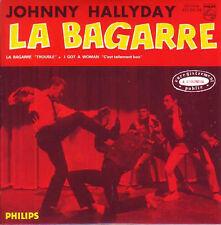 CD Single Johnny HALLYDAY La bagarre 2-track EP REPLICA 9837992 NEUF SCELLE ☆