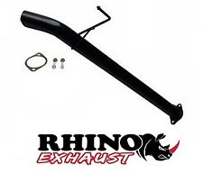 "HOLDEN RC COLORADO 3Lt T/D DUAL CAB 2.5"" MUFFLER ELIMINATOR EXHAUST PIPE - RHINO"