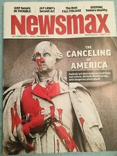 Newsmax Magazine Sept 2020 NEW Independent America Political Health Jay Leno