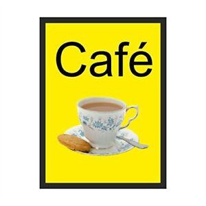 Cafe Dementia Sign  200mm x 300mm Rigid Plastic (DMS-13-RP)