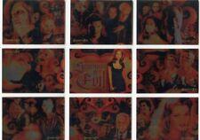 BUFFY THE VAMPIRE SLAYER - BIG BADS - SEASONS OF EVIL 9 CARD Insert Set - BV $27