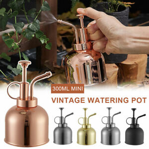 300ML Mini Vintage Watering Pot Copper Watering Can Flower Watering Spray Bottle