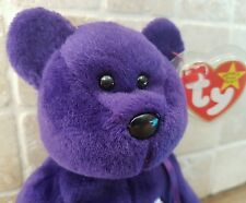RARE 1ST EDITION TY PRINCESS DIANA BEANIE BABY INDONESIA PVC PELLETS NO SPACE