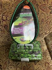 teenage mutant ninja turtles Youth Fishing Net And Tacklw Box Combo
