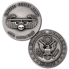 NEW U.S. Army Air Assault Badge Challenge Coin. 48683.