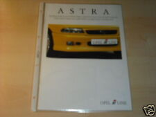 10301) Opel Astra i-Line Irmscher Prospekt 1996