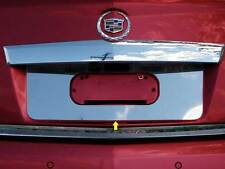 FITS CADILLAC SRX 2010-2016 STAINLESS CHROME LICENSE PLATE TRIM