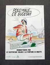 F808 - Advertising Pubblicità - 1988 - EUCETA DISINFETTANTE PER LE SCOTTATURE