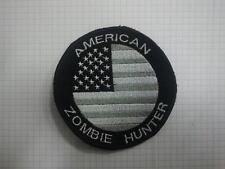Patch toppa American zombie hunter umbrella scratch termoadesivo cucito