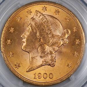 1900 Liberty Gold Double Eagle, PCGS Genuine (Alt. Surface) Very Choice BU AKR