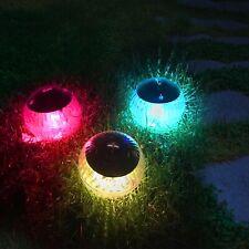 Floating Solar Pool Lights Garden Pond Hanging Lamp Color Changing Waterproof