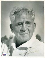 Amos Alonzo Stagg Psa/dna Signed 8x10 Photo Authentic Autograph