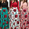 Women Maxi Dress Prom Evening Party Summer Floral Beach Long Sundress For Lady