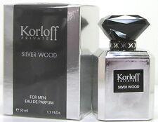 Korloff Private Silver Wood  50 ml EDP Spray Neu OVP