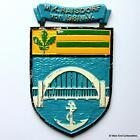MK Raisdorf von 1981 eV - Old German Navy Tampion Plaque Badge Crest