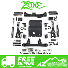 """Zone Offroad 6"""" Lift Suspension System 2016 Toyota Tacoma 4WD T7N"""