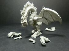 Iron Wind Metal - rearing fire dragon - D&D Ral Partha Miniature