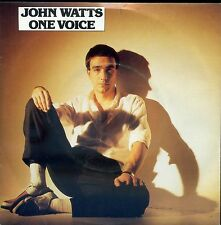 7inch JOHN WATTS one voice HOLLAND 1982 EX+