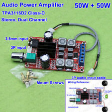 DC 12V-24V 2x50W TPA3116D2 Dual Channel Stereo Digital Audio Amplifier AMP Board