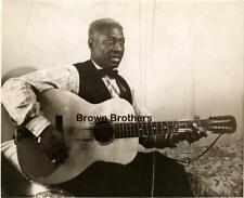 Vintage & Original 1941 Huddie William Ledbetter Lead Belly Unknown Blues Photo
