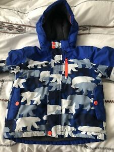 Mini Boden Boys Camouflage Ski Coat Age 2-3 Years