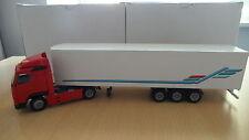 VOLVO FH 12 TRUCK AND TRAILER RED/WHITE CONRAD NO. 4608 1/50