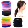 400PCS/Pack Elastic Women Girl Hair Band Ties Rope Ring Hairband Ponytail Holder