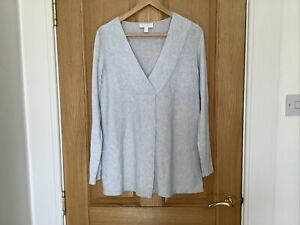 the white company Pale Blue Jumper Size 10