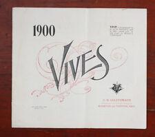 Vives 1900 Catalog/cks/193354