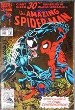 SPIDER-MAN #375-MARVEL COMICS-VENOM-SIGNED LOPRESTI-PANOSIAN-PARKER-FINGEROTH