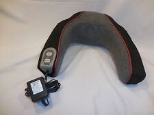 HoMedics Neck Massager  Vibrator Model NMSQ-200 Has Heat and High/Low Massage