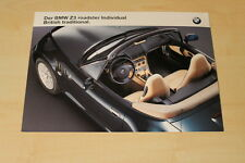 70047) BMW Z3 Roadster individual - British traditional - Prospekt 199?