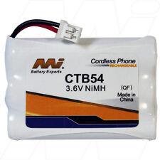 CTB54 3.6V NiMH Cordless Phone Battery