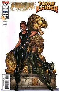 Top Cow/Image Comics Tomb Raider Witchblade Comic Book #1B (1998) High Grade