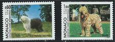 Monaco SC1336-1337 International Dog Show-MonteCarlo-Brian&SheepDog MNH 1982