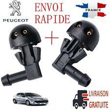 2 x Buse Gicleur de lave-glace GAUCHE et DROIT Peugeot 206 NEUF