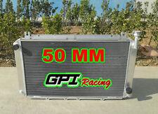 Radiateur en Aluminium pour NISSAN GQ PATROL Y60 4.2 L Essence TB42S TB42E 1987-97 3ROW