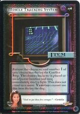 Buffy TVS CCG Limited Class Of 99 Premium Foil Card #176 Mobile Tracking System