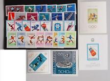 EUROPE 1968 OLYMPICS, XF Cpl MNH** Sheet+Set Collection, Bulgaria Romania Sports