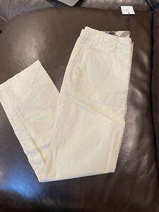 New Boys Burberry Chino Tan Cotton Pants Trousers Size 8 Y