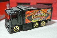 Hot Wheels Circus - Hiway Hauler - Black - Loose - 1:64 - Hot Wheels Sideshow