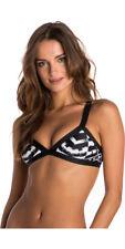 Rip Curl Mirage Shakra Banded Tri Bikini Top + Bomb Chakra Pant BNWT Size 16