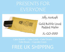 50 x Jiffy Airkraft Gold Bubble Lined Postal Padded Mailing Bags JL-GO-000 A/000